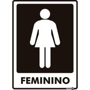 Placa 15 X 20 Feminino - Encartale