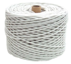 Corda para Varal em Nylon Branca - Polibel