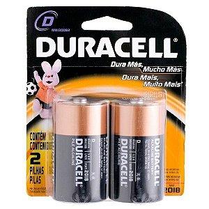 Pilha  Tipo D  Alcalina - Duracell