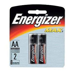 Pilha AA  Alcalina Max - Energizer