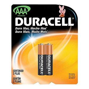 PIilha  AAA  Alcalina - Duracell