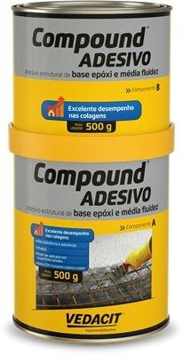Otto Compound Adesivo  A+B 1 KG - Otto Baumgart