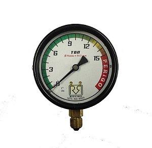 Manometro Relógio para Prensa 15 Ton - Ribeiro