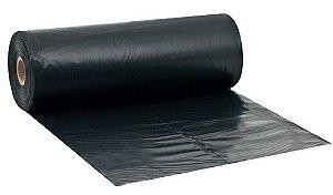Lona Plástica Preta 6 X 100 M - Lonax