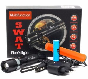 Lanterna Led CREE Q5 BL-8626Z - SWAT