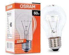 Lampada Incandecente 60W X 220V Filamento Reforçado - Osram