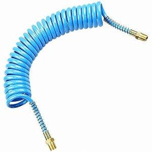 Mangueira Espiral Azul com Conexões (Várias Medidas) - Arcdal