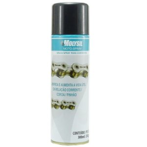 Graxa Spray 300ML  Molysil - Lumobras