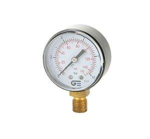 Manômetro Relógio 1/4  150PSI - GENEBRE