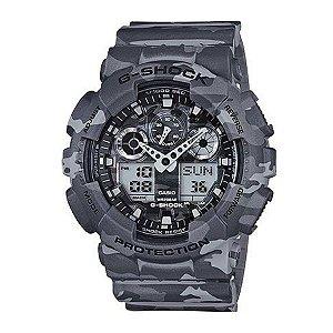 872963f7e14 Relógio Casio Masculino G-Shock Ga100Cm8Adr