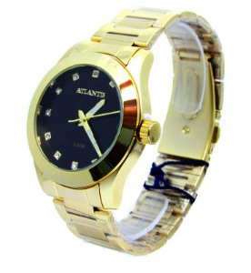 4a9df49ad29 RELOGIO FEMININO ATLANTIS G3352 FUNDO BRANCO - Atlantis Relógios