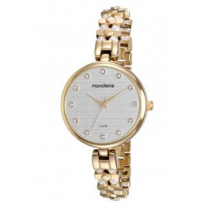 7cf23a6838ba8 Relógio Feminino Mondaine Dourado Analógico 53538LPMVDE4 - Atlantis ...