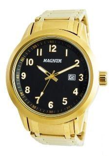 8e40da08b54 RELÓGIO MASCULINO ANALÓGICO MAGNUM MA33068T - Atlantis Relógios