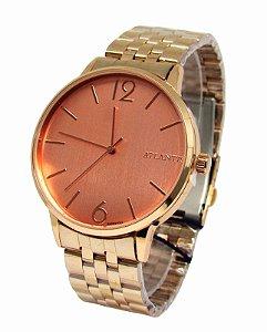 a85d70899d1 RELOGIO FEMININO ATLANTIS G3500 ROSE FUNDO AZUL - Atlantis Relógios