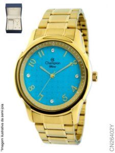 2916bda7514 KIT RELOGIO FEMININO CHAMPION CN26573W COM SEMI JOIA - Atlantis Relógios