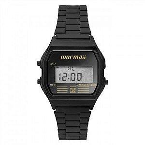 8693e39eec3 Relógio Mormaii Feminino Vintage Mojh02aj 4p Preto Digital
