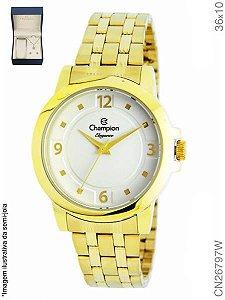 5115c421e5c kIT Relógio Champion Feminino + Conjunto Semi Joia CN26797W