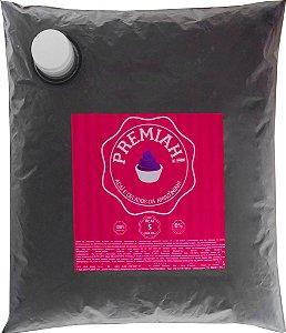 Açaí Premiah! Bag com 5 quilos - Natural, Banana e Morango - 1 unid.
