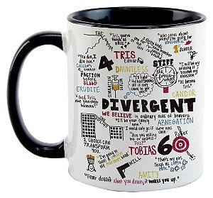 Caneca - Divergente - Elementos Variados
