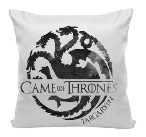 Almofada - Game of Thrones - Casa - Targaryen