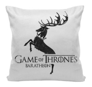 Almofada - Game of Thrones - Casa Baratheon