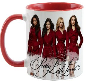 Caneca - Série Pretty Little Liars - Red
