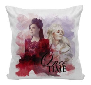 Almofada - Once Upon a Time - Regina e Emma