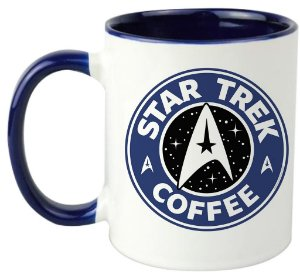 Caneca - Star Trek Coffee