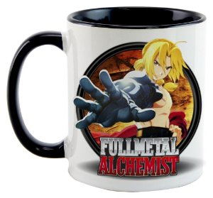 Caneca - Anime Fullmetal Alchemist