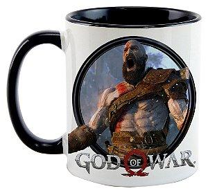 Caneca - Game God of War 2016