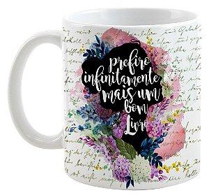 Caneca - Frase Elizabeth - Orgulho e Preconceito - Jane Austen