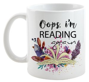 Caneca - Bookstagram - Oops, i'm Reading Again