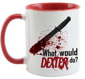 Caneca - Dexter - What Would Do?