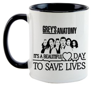 Caneca - Grey's Anatomy - Beautiful Day