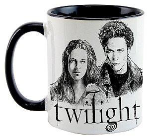 Caneca - Saga Crepúsculo Edward e Bella