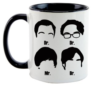 Caneca - The big bang Theory - Personagens
