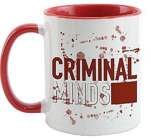Caneca - Criminal Minds - Logo