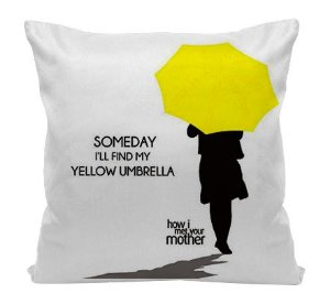 Almofada - How i met your Mother - Umbrella