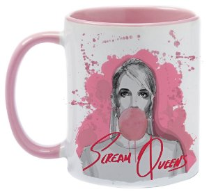 Caneca -Scream Queens - Pink
