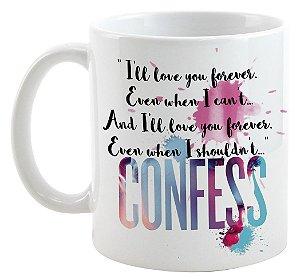Caneca - Livro Confess