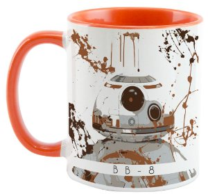 Caneca - Star Wars - BB8 - Aquarela