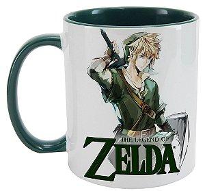Caneca - The Legend of Zelda - Green