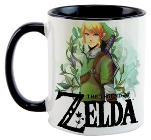 Caneca - The Legend of Zelda - Black