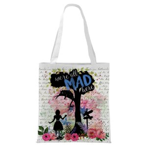 Ecobag - Alice - We're all Mad