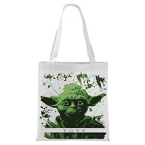 Ecobag - Star Wars - Yoda - Aquarela