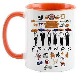 Caneca - Série Friends - Elementos