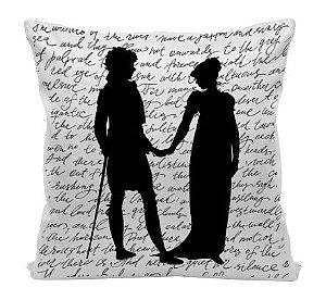 Almofada - Jane Austen - Silhuetas