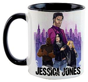 Caneca - Jessica Jones - Personagens