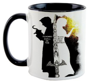 Caneca - Once Upon a Time - Gancho e Emma - Quote