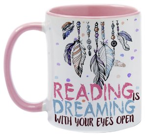 Caneca - Bookstagram - Reading is Dreaming